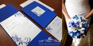 wedding invitations royal blue royal blue wedding invitation paperinvite