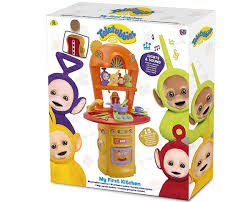 ma premi鑽e cuisine comaco toys teletubbies my kitchen lights and sounds set