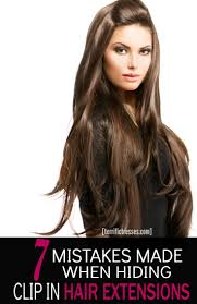 Best Clip In Hair Extensions For Thick Hair by Top 25 Best Clip In Hair Extensions Ideas On Pinterest