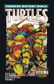 teenage mutant ninja turtles color classics u2013 idw publishing