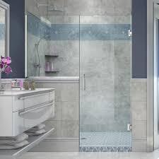 4 ft shower doors dreamline elegance 30 1 2 in to 32 1 2 in x 72 in semi framed
