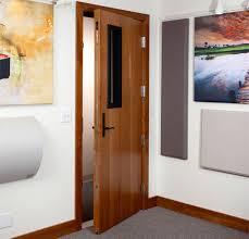 Soundproof Interior Door Media Doors Technature Inc