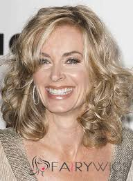 eileen davidson hairstyle 2015 14 inch wavy eileen davidson lace front human wigs fairywigs com