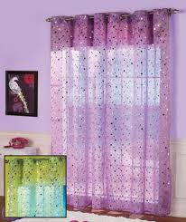 Little Girls Bedroom Curtains Sparkle Window Curtain Perfect For A Little Girls Room