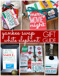 yankee swap and white elephant exchange gift ideas with free