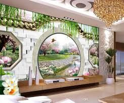 custom any size dream 3d spring peach round door tv backdrop wall custom any size dream 3d spring peach round door tv backdrop wall mural 3d wallpaper 3d wall papers for tv backdrop landscape wallpapers latest wallpapers