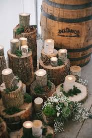 Log Centerpiece Ideas by Best 25 Rustic Candle Centerpieces Ideas On Pinterest Candle