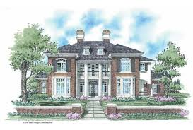 neoclassical house eplans neoclassical house plan true colonial style 3501 square