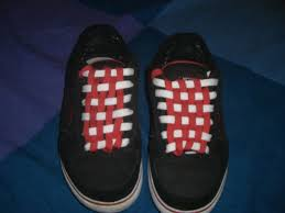 shoelace pattern for vans checkerboard your shoelaces
