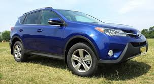 toyota awd review 2015 toyota rav4 xle awd driving towards the top of the