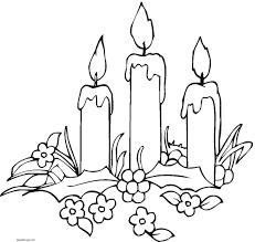 imagenes de navidad para colorear online dibujos de velas para colorear