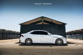 stanced 2014 lexus is250 19 inch staggered wheels