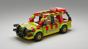 jurassic park jeep instructions ideas jurassic park explorer with minifigs
