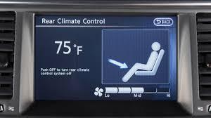 nissan armada 2017 usb 2017 nissan armada rear heater and air conditioner youtube