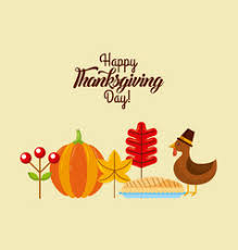 thanksgiving menu vector images 310
