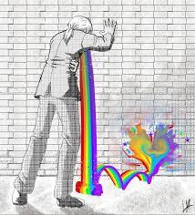Throwing Up Rainbows Meme - vomiting rainbows by thndr on deviantart