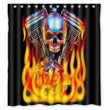 Harley Davidson Home Decor Catalog Lovely Harley Davidson Bathroom Shower Curtains For Your Home