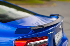 subaru brz spoiler subaru brz 2 0i sport 6at 2017 test project automotive