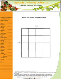 easy vegetable garden layouts