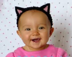 Halloween Costume Cat Ears Baby Cat Costume Etsy