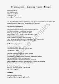 Tutoring Job Resume Online Tutor Sample Resume