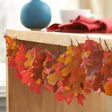 Decorating With Fall Leaves - 20 fall decorating ideas with using dry leaves and fruits