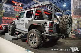 rhino jeep grand cherokee 2016 sema go rhino jeep jk wrangler