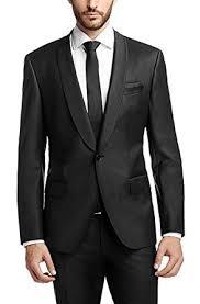 casual blazer vijay collection mens slim fit casual blazer jet black amazon in