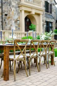wedding table and chair rentals crossback vineyard chair rental in atlanta athens lake oconee