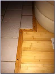 hardwood floor transition between rooms flooring home