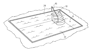 patent us20120233937 anchoring system for swimming pool stairs