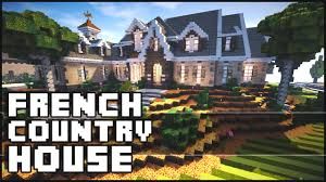 minecraft french country house youtube