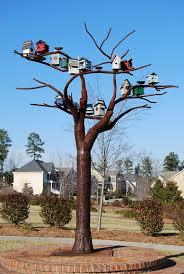free photo birdhouses bird houses steel tree free image on