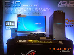 g10 new asus gaming desktop pc announced at the pinoy gaming