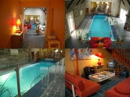 hotel avec dans la chambre en bretagne gite les chataigniers avec piscine intérieure à martin sur