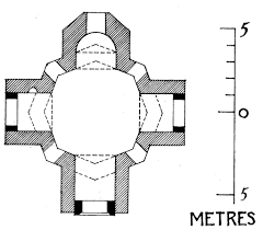 Gothic Church Floor Plan by 3 3 1 2 1 The Greek Cross Type Quadralectic Architecture