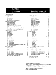 alinco dj 180 1400 service manual amplifier electronic filter