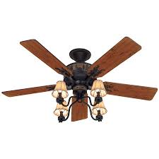 lowes fanimation ceiling fan skill lowes ceiling fans flush mount shop hunter adirondack 52 in