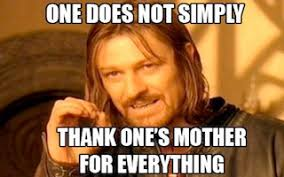 Best Mom Meme - mother s day memes morpheus boromir success kid first world