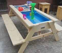 Playskool Picnic Table Sand And Water Table Make A Slide Groove To Use It As A Regular