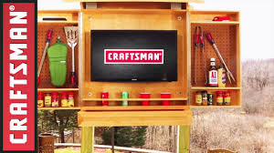 Wood Tool Storage Cabinets How To Build A Storage Cabinet For Barbecue Tools Craftsman