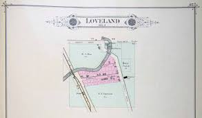 Map Of Iowa Towns Iagenweb Pott Co City Maps 1885