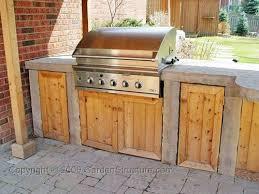 Outdoor Kitchen Furniture - diy outdoor kitchen cabinet door design how to build for the