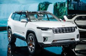 jeep unveils seven new concepts jeep u0027s plug in hybrid suv concept debuts with a 40 miles all