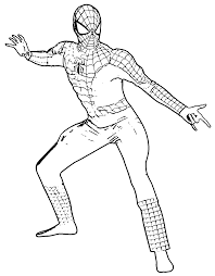 spider man coloring pages coloringsuite com