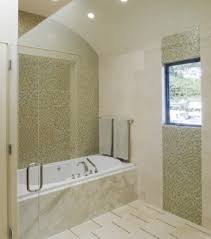 luxury bathroom with small tiles on wall and white tub also small 20 cool green bathroom design ideas luxury bathroom with small tiles on wall and white