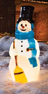 Outdoor Lighted Snowman Decorations by Create The Ultimate Outdoor Christmas Display With This 41