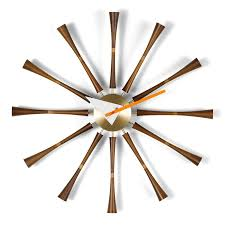 vitra spindle clock by george nelson 1957 designer furniture by