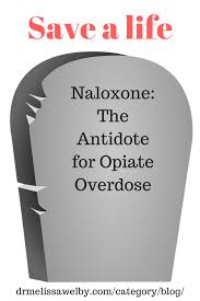 naloxone the antidote for opiate overdose melissa welby md
