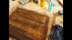 Wood Finishing Techniques Glazing by Wood Finishing Make Old Wood Look Older Youtube